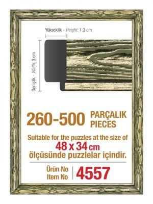 500\'lük Platin 48 x 34 cm Puzzle Çerçevesi