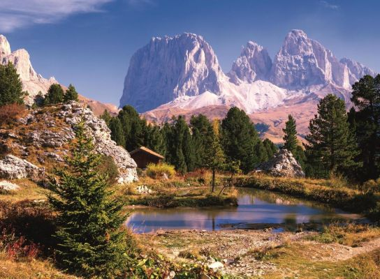 A Lake In Dolomites