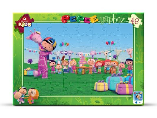 Art Çocuk Puzzle Pepee\'nin Doğum Günü Partisi 48 Parça