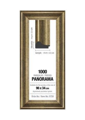 Art Puzzle 1000'lik Gümüş Panorama 96 x 34 cm Puzzle Çerçevesi (43 mm)
