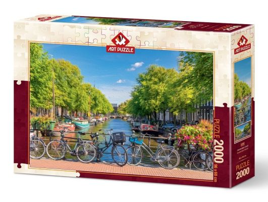 Art Puzzle Amsterdam Kanalı 2000 Parça Puzzle