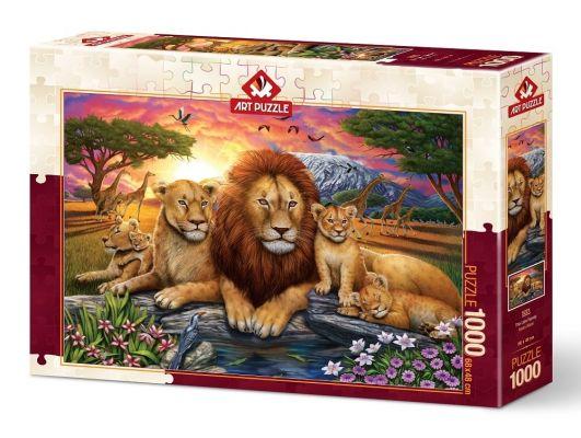 Art Puzzle Aslan Ailesi 1000 Parça Puzzle