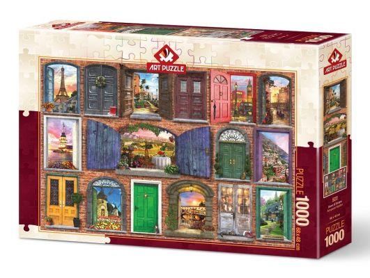 Art Puzzle Avrupa'nın Kapıları 1000 Parça Puzzle