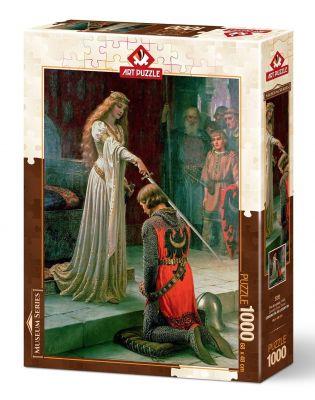 Art Puzzle Şövalye Onur Töreni 1000 Parça Puzzle