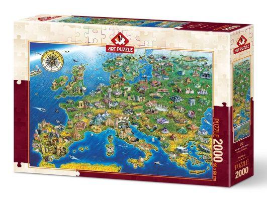 Art Puzzle Dünya Harikaları 2000 Parça Puzzle