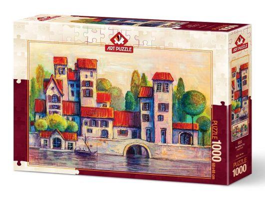 Art Puzzle Doğa Kent 1000 Parça Puzzle