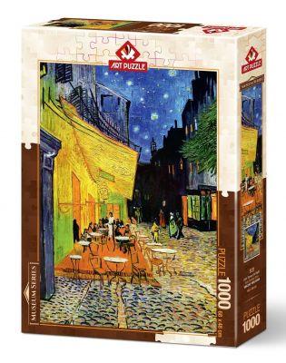 Art Puzzle Kafe Terasta Gece 1000 Parça Puzzle