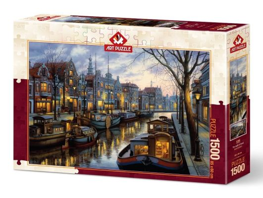 Art Puzzle Kanal Işıkları 1500 Parça Puzzle