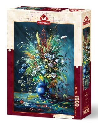 Art Puzzle Kır Çiçekleri 1000 Parça Puzzle