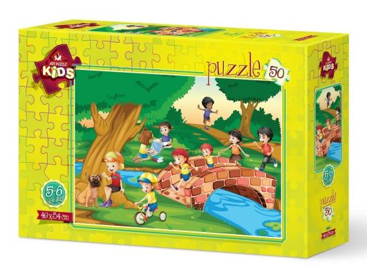 Art Puzzle Kovalamaca 50 Parça Yapboz