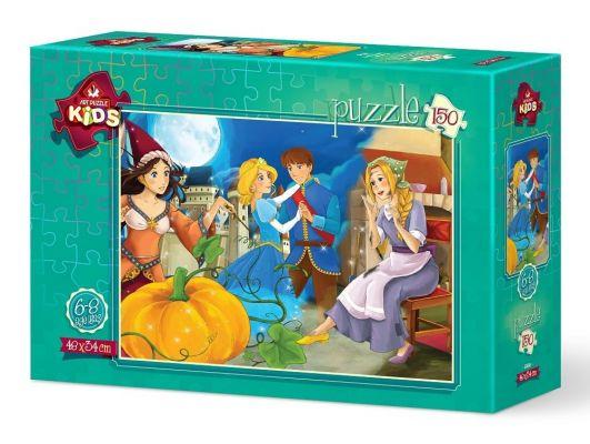 Art Puzzle Kraliyet Çifti 150 Parça Yapboz