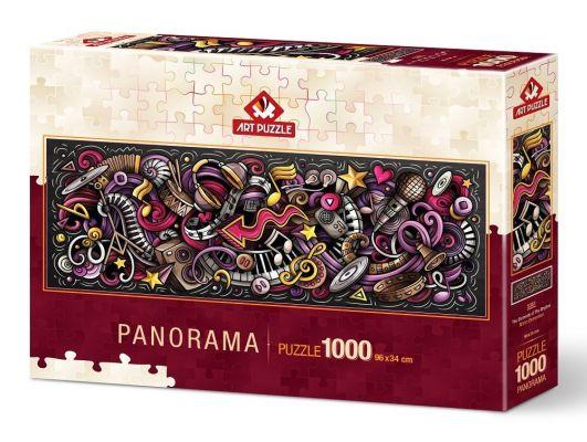 Art Puzzle Ritmin Elementleri 1000 Parça Panorama Puzzle