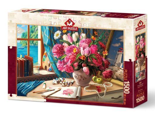 Art Puzzle Sanatın Kokusu 1500 Parça Puzzle