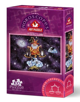 Art Puzzle Terazi Burcu 100 Parça Puzzle
