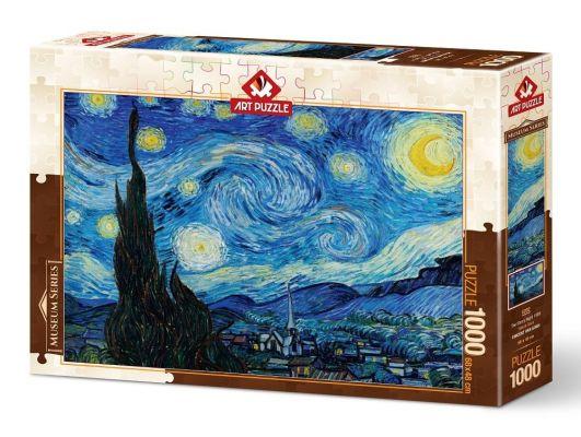 Art Puzzle Yıldızlı Gece 1000 Parça Puzzle