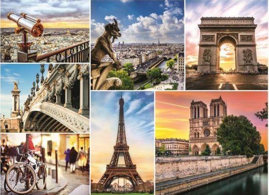 Magic Of Paris, Collage
