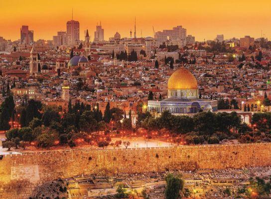 The Roofs Of Jerusalem