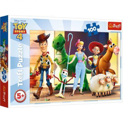 Toy Story 4, Let\'s Play 100 Parça Yapboz
