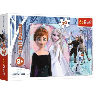 Trefl Çoçuk Puzzle Magıcal Frozen 30 Parça Puzzle