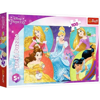 Trefl Çoçuk Puzzle Meet Sweet Prıncesses 100 Parça Puzzle