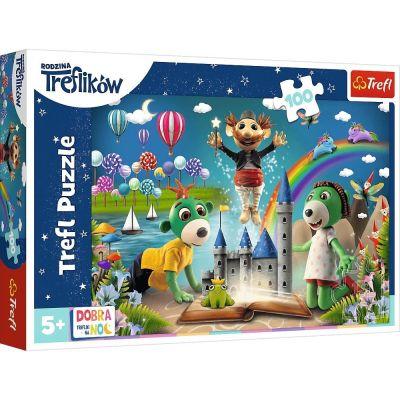 Trefl Çoçuk Puzzle Faırytale Evenıng With Trefliks 100 Parça Puzzle