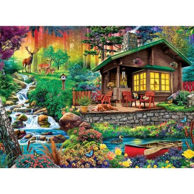 Trefl Puzzle Cabin In The Woods 3000 Parça