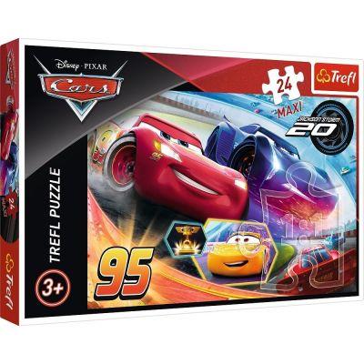 Trefl Puzzle Cars Let The Best Driver Win 24 Parça Maxi Yapboz