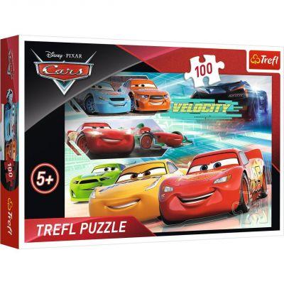 Trefl Puzzle Cars Race Heroes 100 Parça Yapboz
