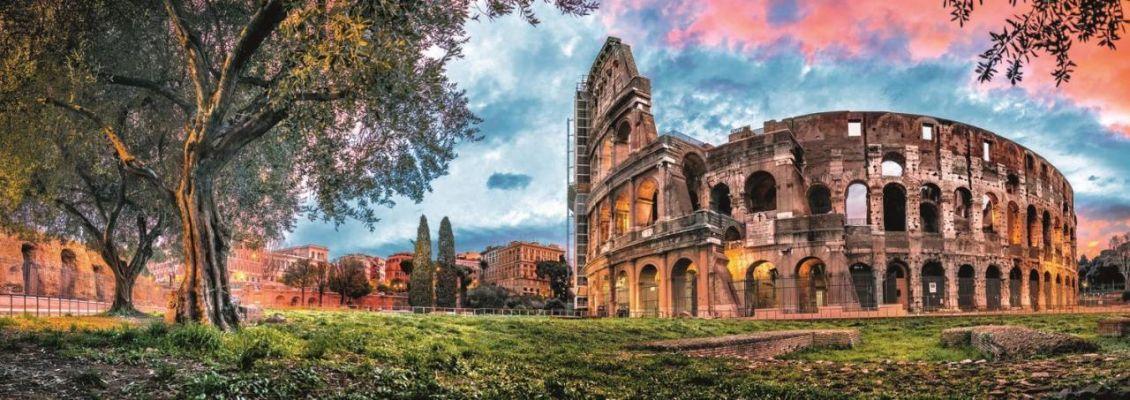 Trefl Puzzle Colosseum At Dawn 1000 Parça Panorama
