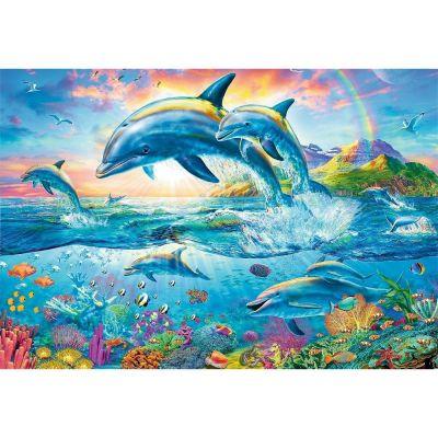 Trefl Puzzle Dolphin Family 1500 Parça