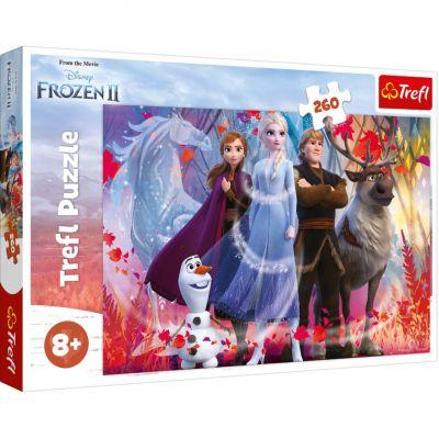Trefl Puzzle Frozen II  In Search of Adventures 260 Parça Yapboz
