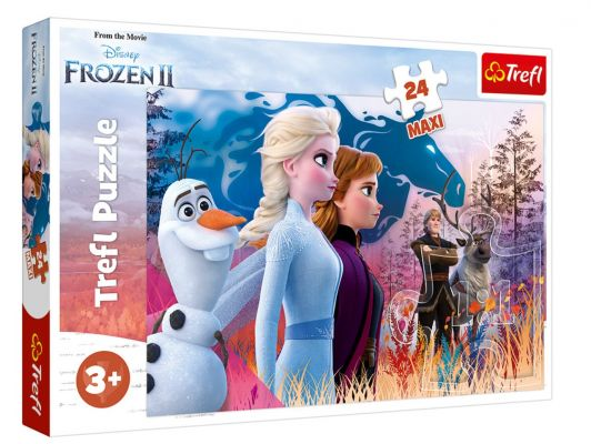 Trefl Puzzle Frozen II Magical Journey 24 Parça Maxi Yapboz