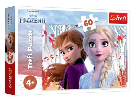 Trefl Puzzle Frozen II The Enchanted World Of Anna And Elsa 60 Parça Yapboz