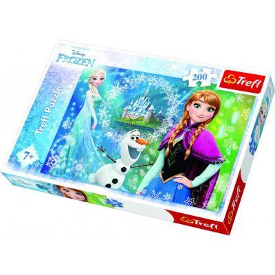 Trefl Puzzle Frozen Power Of Sisters 200 Parça Yapboz
