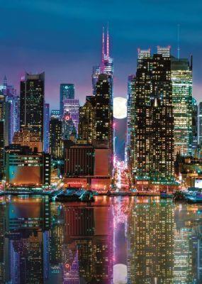 Trefl Puzzle Full Moon Over The Manhattan 500 Parça