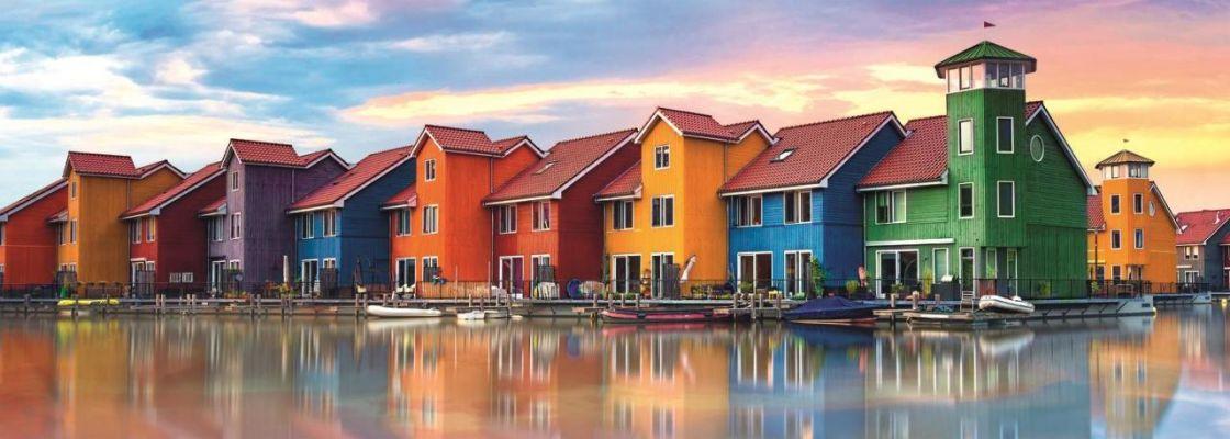 Trefl Puzzle Groningen, Netherlands 1000 Parça Panorama