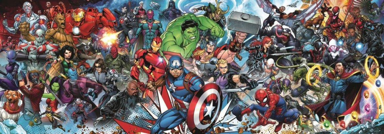 Trefl Puzzle Join The Marvel Universe 1000 Parça Panorama