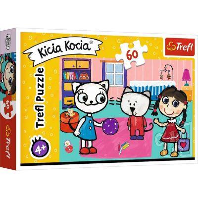 Trefl Puzzle Kicia Kocia Kitty Cat With Friends 60 Parça Yapboz