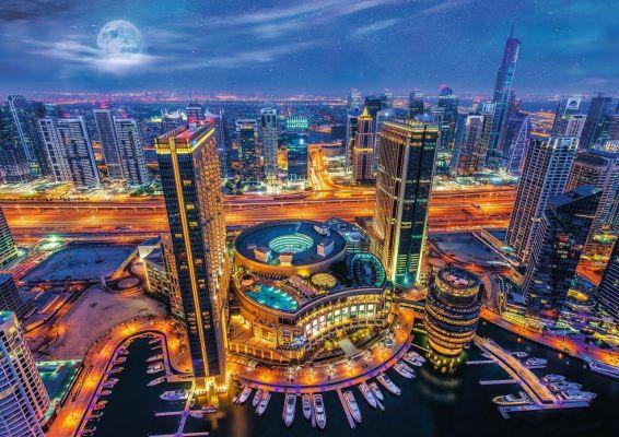 Trefl Puzzle Lights Of Dubai 2000 Parça
