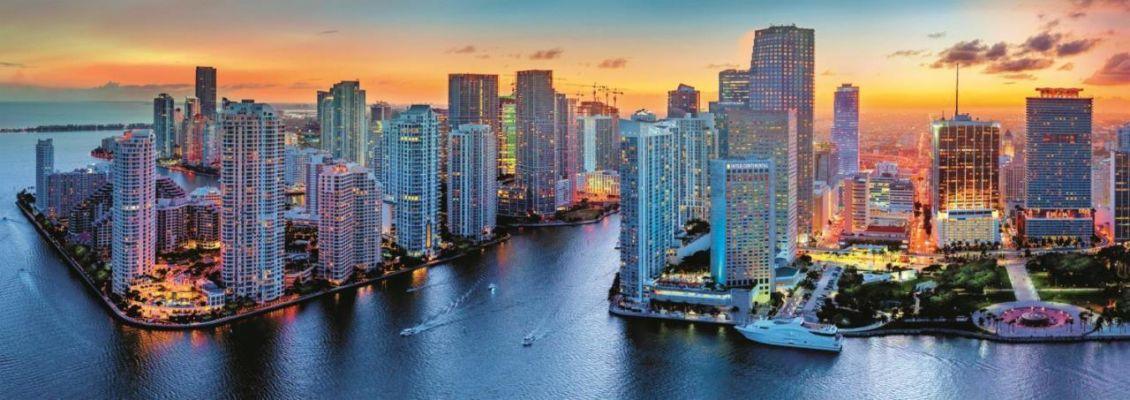 Trefl Puzzle Miami After Dark 1000 Parça Panorama