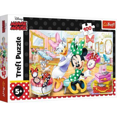 Trefl Puzzle Minnie At A Beauty Salon 100 Parça Yapboz