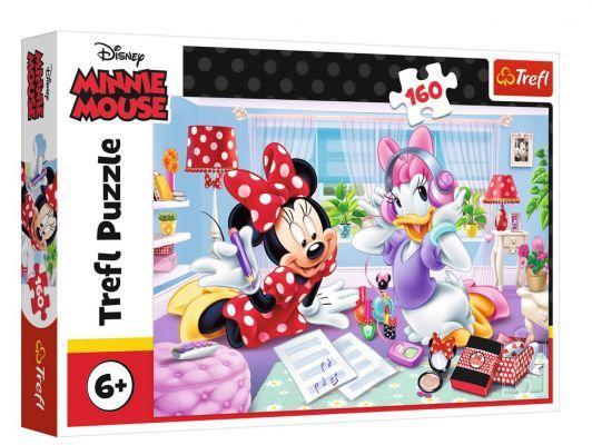 Trefl Puzzle Minnie Day With Best Friend 160 Parça Yapboz