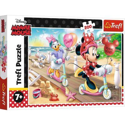 Trefl Puzzle Minnie On The Beach 200 Parça Yapboz