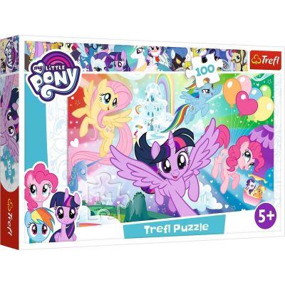 Trefl Puzzle My Little Pony Rainbow Landscape 100 Parça Yapboz