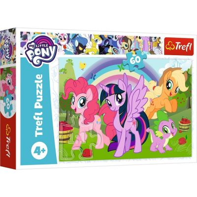Trefl Puzzle My Little Pony Rainbow Friendship 60 Parça Yapboz