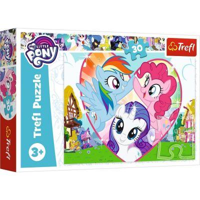 Trefl Puzzle My Little Pony Better Together 30 Parça Yapboz