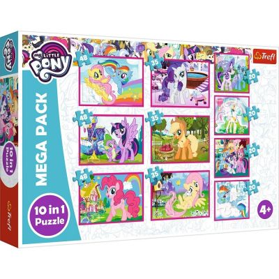 Trefl Puzzle My Little Pony Ponies Magical World 10'lu 4x20+3x35+3x48 Parça Yapboz