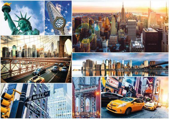 Trefl Puzzle New York 4000 Parça