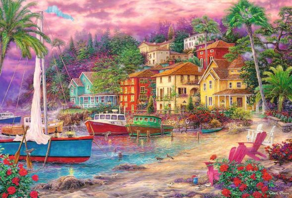 Trefl Puzzle On Golden Shores 1500 Parça