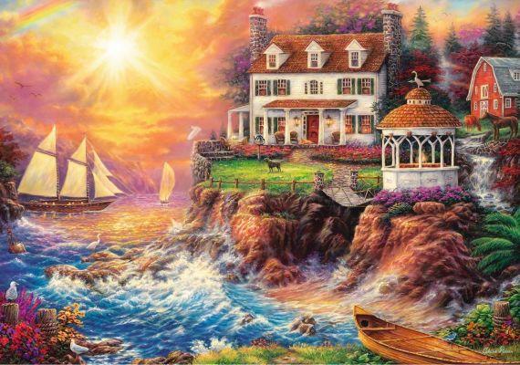 Trefl Puzzle Peaceful Heaven 1000 Parça
